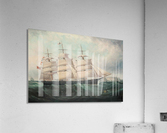 A large boat by the sea  Acrylic Print
