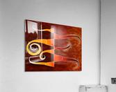 Cassanita sol - martian bird  Acrylic Print