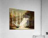Waterfall in the Neath Valley  Acrylic Print