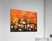 Sunflowers & Prickly Poppies  Acrylic Print