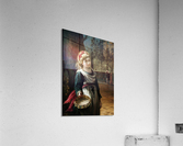 A young blonde girl  Acrylic Print