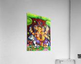 GANAPATHY MURAL  Acrylic Print
