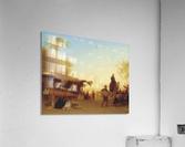 A Cairo bazaar at dusk  Acrylic Print