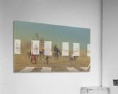 Arab caravan outside city  Acrylic Print
