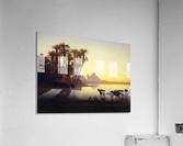 Along the Nile at Giza  Acrylic Print