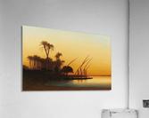 Sunset on the Nile  Acrylic Print