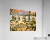 A battle scene  Acrylic Print