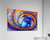Melanissia - abstract moonrise  Acrylic Print