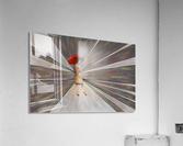 Limessia - beauty with umbrella  Acrylic Print