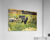 Farmer at work by Seurat  Acrylic Print