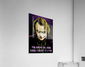 The Joker Says  Acrylic Print