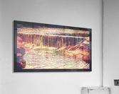 Medicine Park waterfall pic art  Acrylic Print