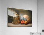 Copper Pots Pomegranate Apple  Acrylic Print