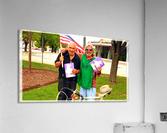 Homeless War Buddies  Acrylic Print