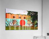 Beautiful Mural OKC  Acrylic Print