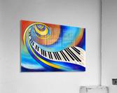 Redemessia - spiral piano  Acrylic Print