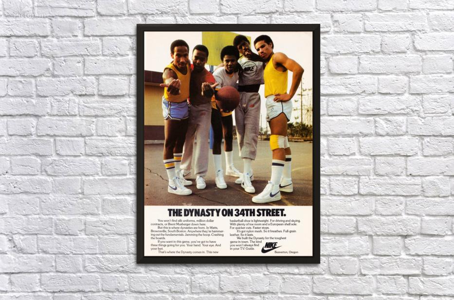 1981 Nike Ad Dynasty On 34th Street Row One Brand