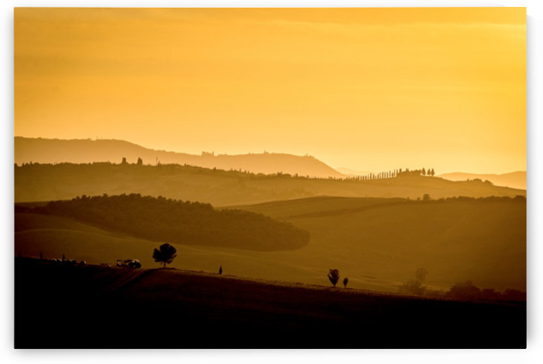 Tuscany Pienza Dawn by Fabien Dormoy
