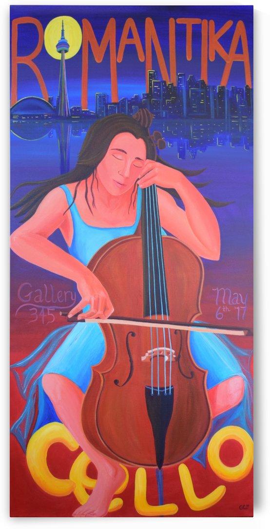 Romantika Cello by Annette Gaffney