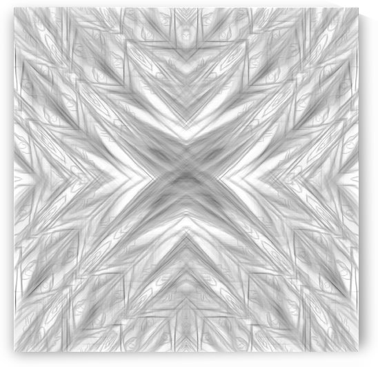 psychedelic drawing symmetry graffiti art abstract pattern in black and white by TimmyLA