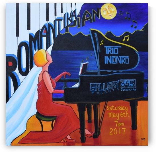 Romantika Piano by Annette Gaffney