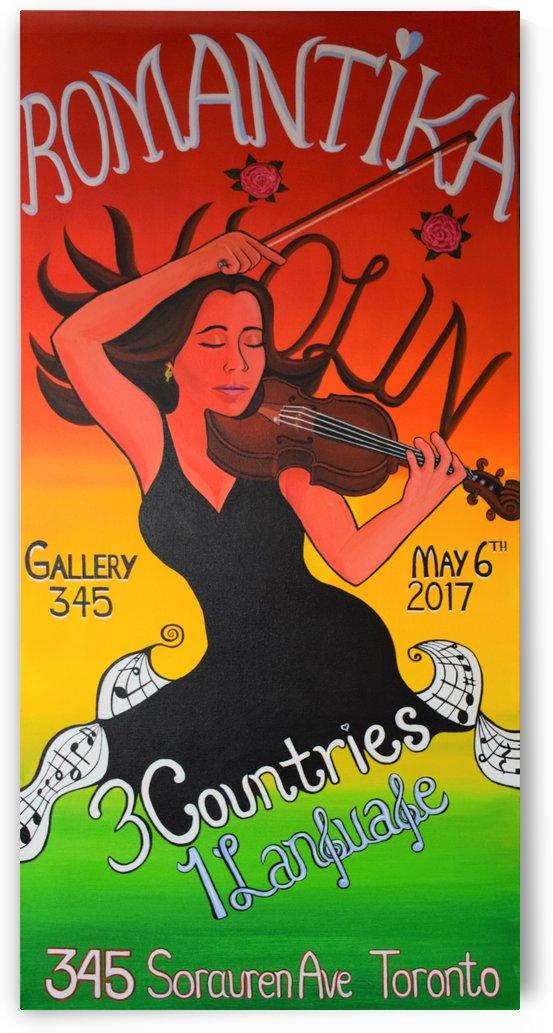 Romantika Violin by Annette Gaffney