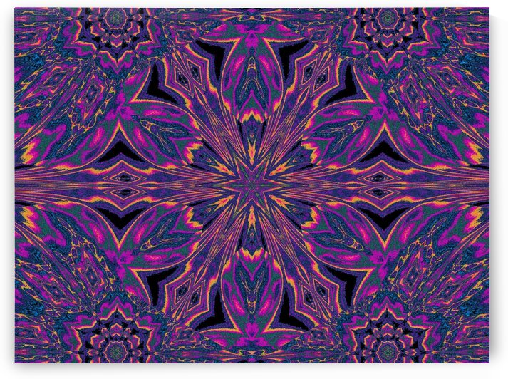 Psychedelic Jasmine 3 by Sherrie Larch