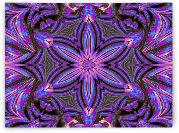 Psychedelic Jasmine 1 by Sherrie Larch