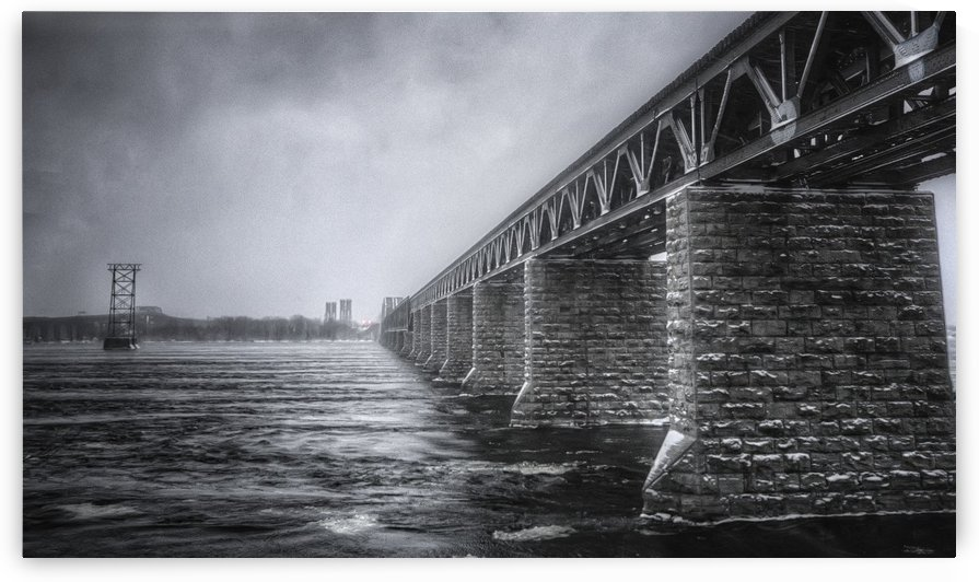 CP Rail Bridge by Ron Harris