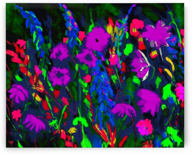 Vivid Floral by KJHArt