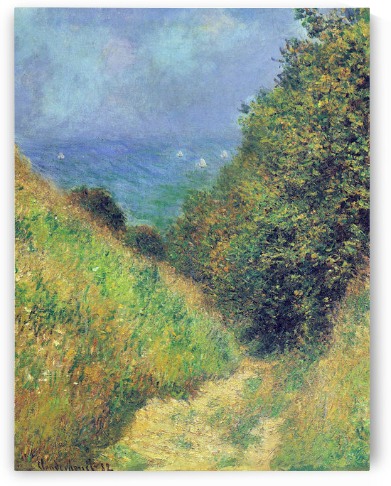 Pourville #2 by Monet by Monet