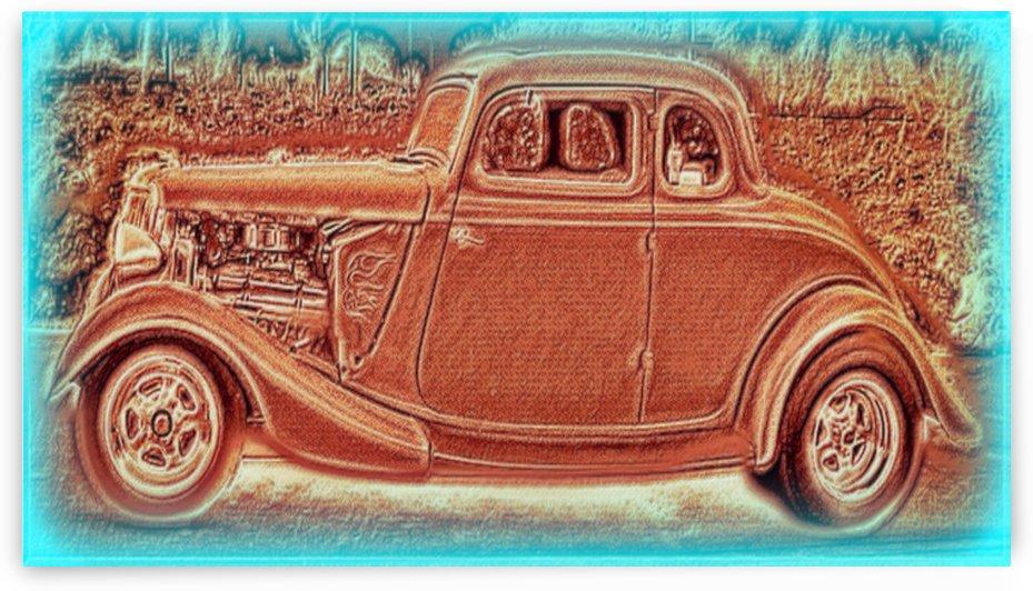 Hot Rod by Chazzi R  Davis