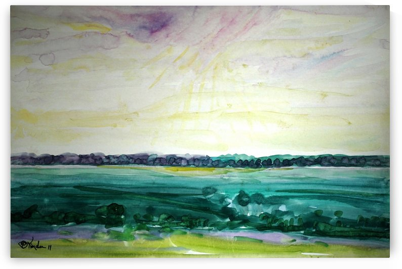 Fields3 by Pracha Yindee