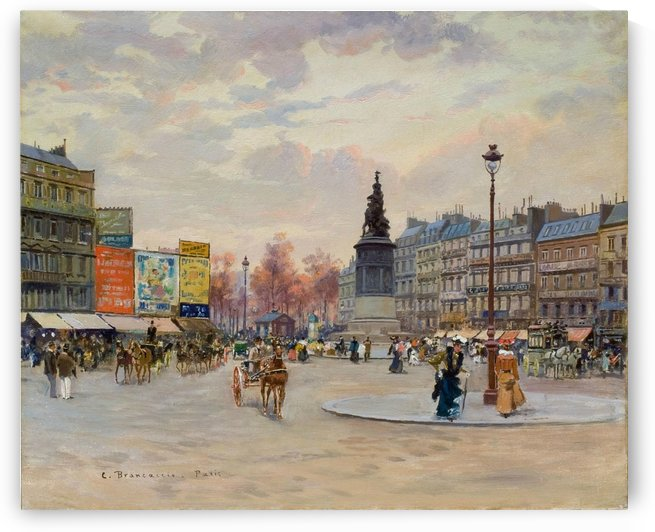 Place of Clichy by Carlo Brancaccio