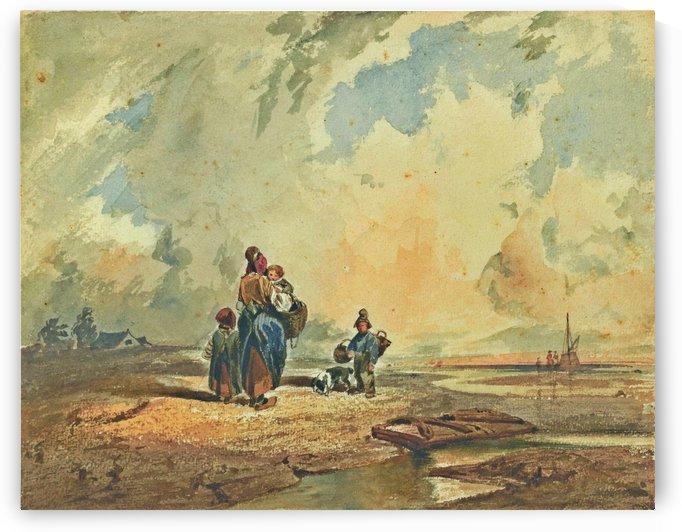 Coste della Crimee, c.1842 by Carlo Bossoli