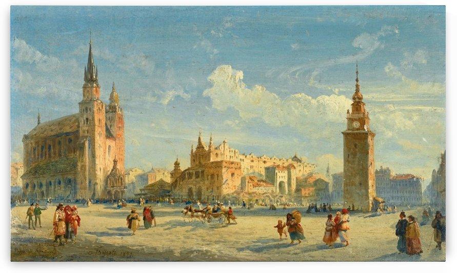 Piazza di Cracovia by Carlo Bossoli