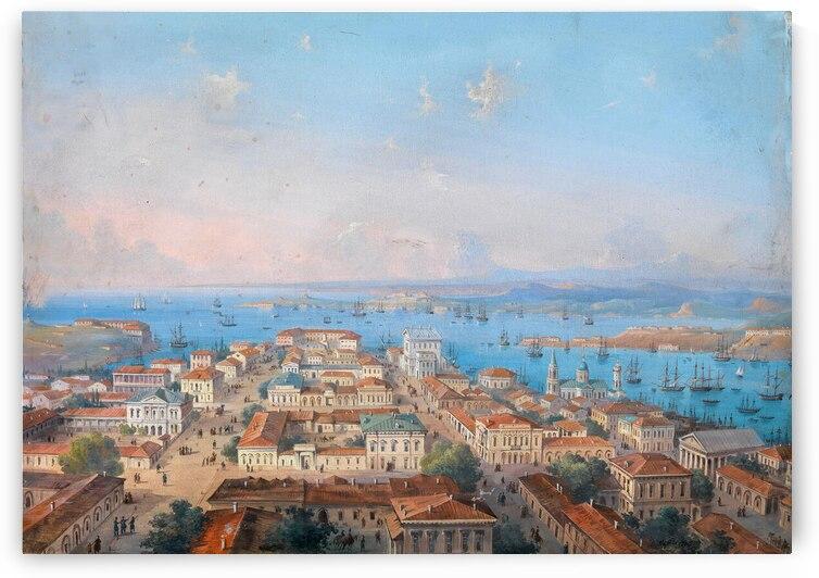 View of Sevastopol by Carlo Bossoli