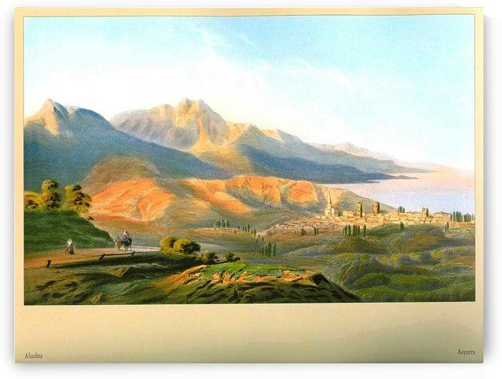 A view of Alushta by Carlo Bossoli