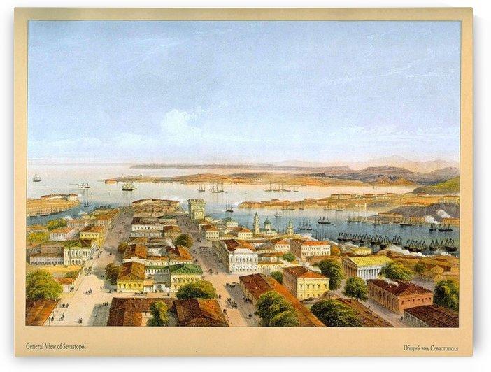 General view of Sevastopol by Carlo Bossoli