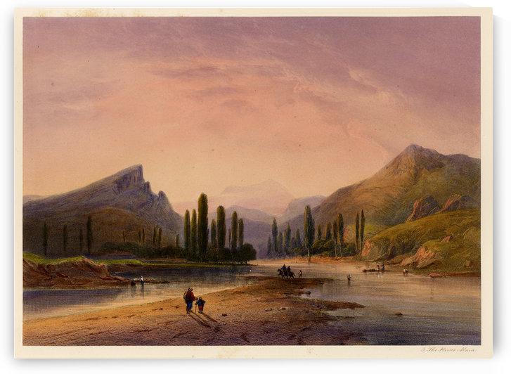 The river Alma by Carlo Bossoli