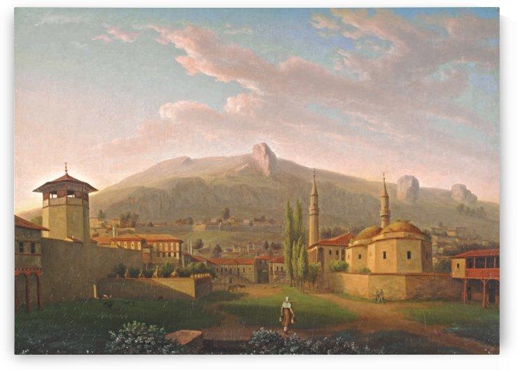 The Khan's Palace, Bahcesaray by Carlo Bossoli