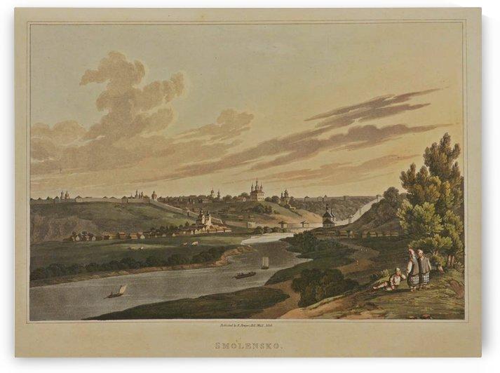 A view of Smolensko by Carlo Bossoli