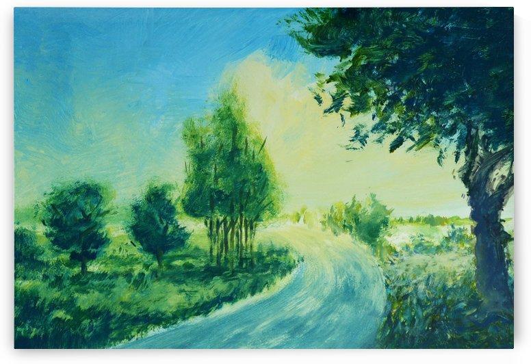Landscape 3 by Pracha Yindee