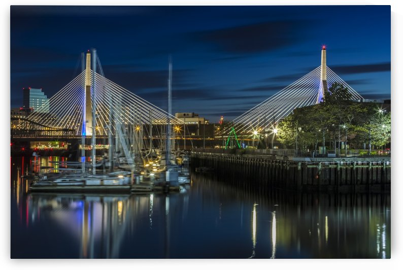 BOSTON Bunker Hill Bridge by Melanie Viola