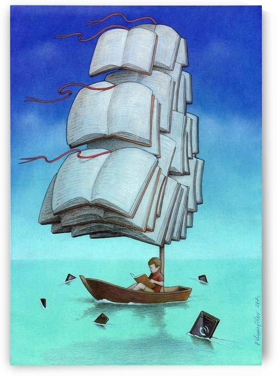 Journey with sharks by Pawel Kuczynski