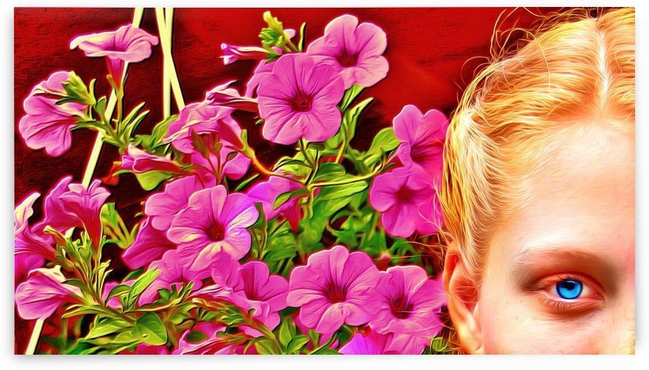 womanflowersEYE by Chazzi R  Davis