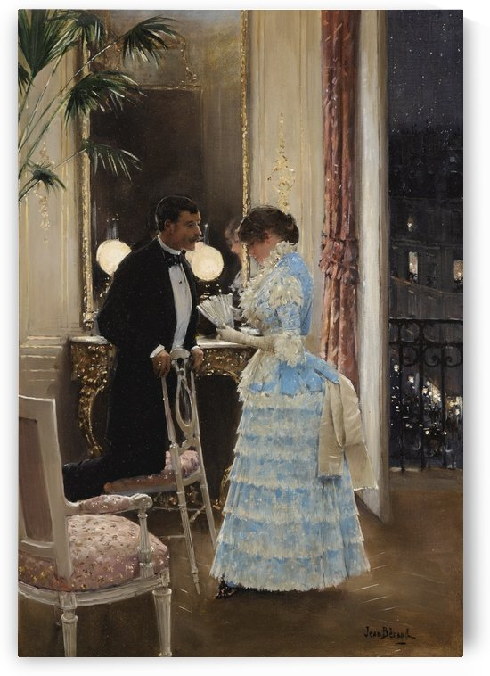The Conversation by Jean Beraud