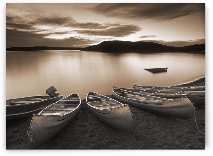 Elkwater Lake, Cypress Hills Interprovincial Park, Eklwater Alberta Canada. by PacificStock
