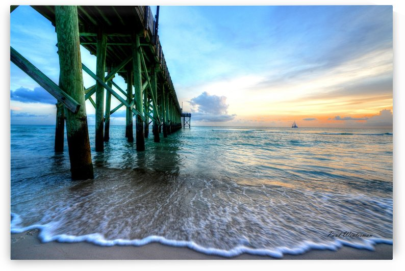 Florida Pier by Paul Winterman