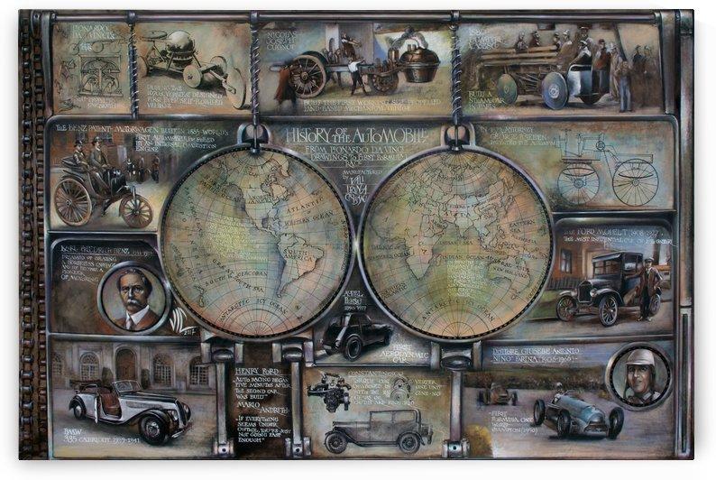 map history of the automobile by vali irina ciobanu